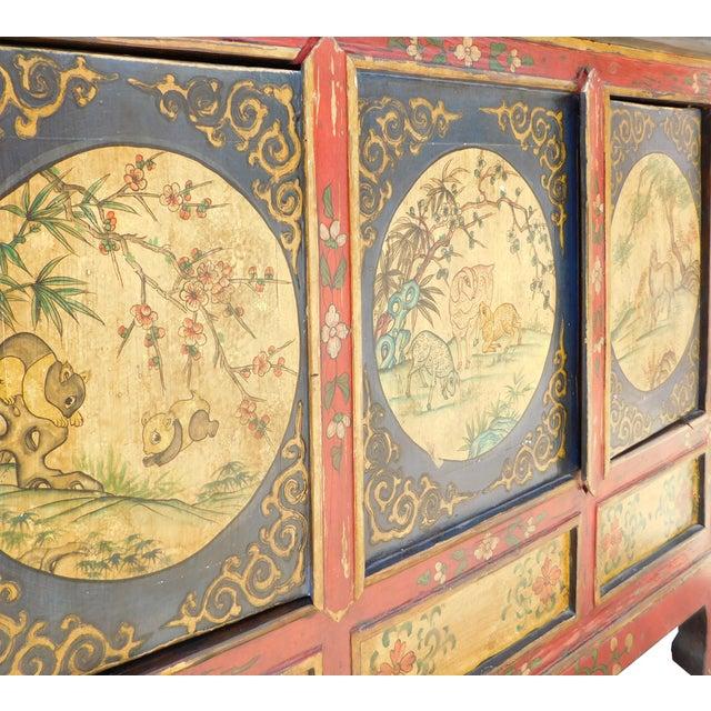 Chinese Tibetan Credenza - Image 5 of 7