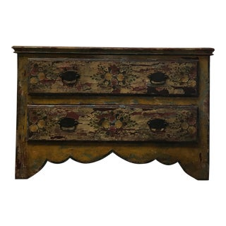 Rustic Distressed & Painted Chest