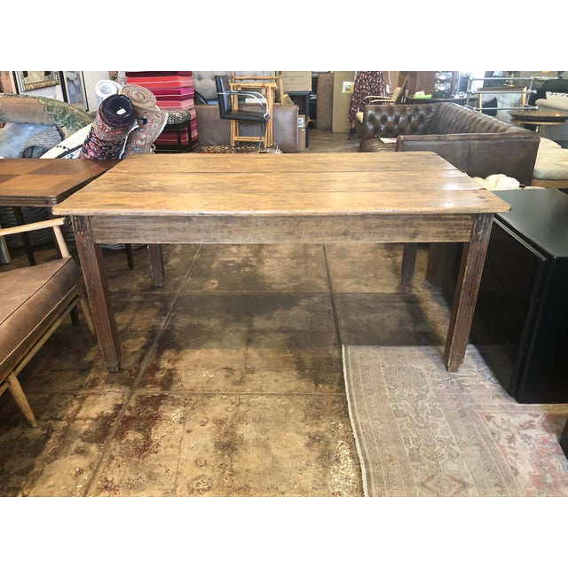 Antique French Farm Table For Sale - Image 12 of 12