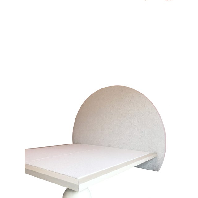 2010s Jp Upholstery Cleo King Bed For Sale - Image 5 of 6