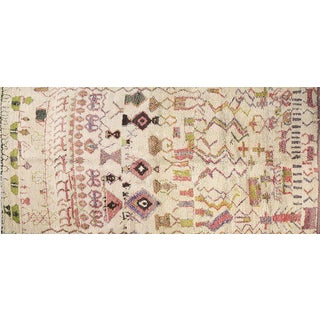 Moroccan Rug - 6′ × 12′9″ For Sale