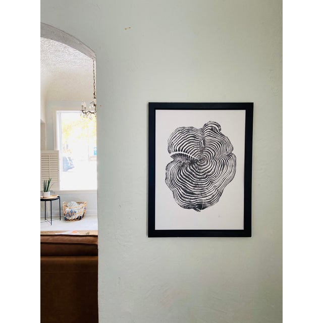 Printmaking Materials California Sequoia Print, From Sequoia National Park and Kings Canyon, by Erik Linton For Sale - Image 7 of 10