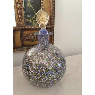 Mid Century Millefiore Murano Art Glass Bulbous Shape Bottle/Decanter Preview