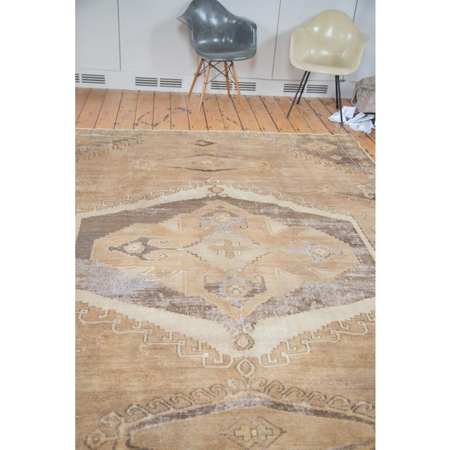 "Distressed Oushak Carpet - 7'10"" X 11' - Image 6 of 9"