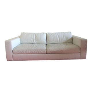 Design Within Reach Reid Leather Sofa