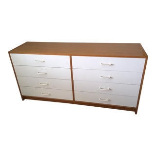 Late 1970s Vintage Ervi-Mobler A/S Danish Modern 8-Drawer Chest For Sale