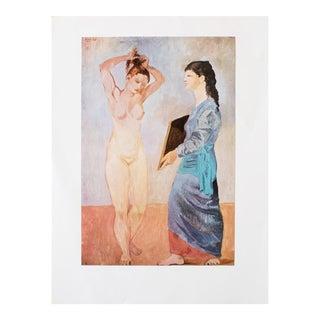 """1971 Pablo Picasso, """"La Toilette"""" Period Parisian Photogravure For Sale"""