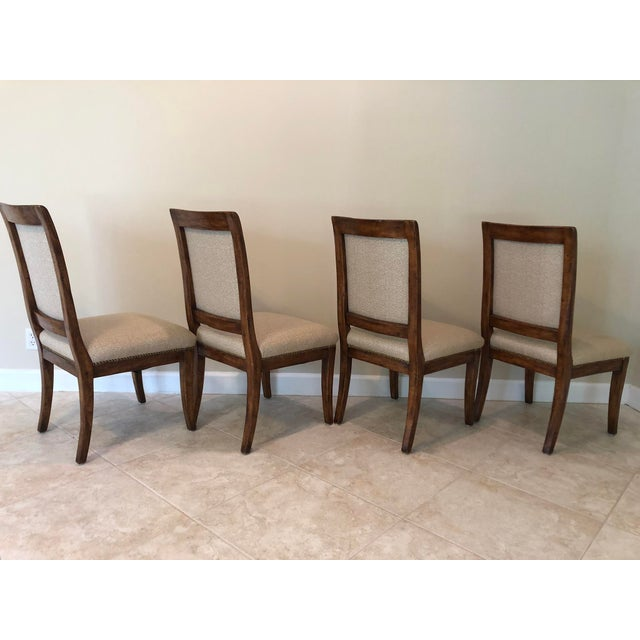 Bausman & Company Bench Made Side Chairs - Set of 4 For Sale - Image 9 of 13