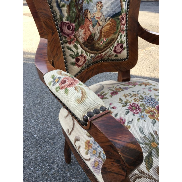 1900 - 1909 1900s Antique Accent Chair For Sale - Image 5 of 8