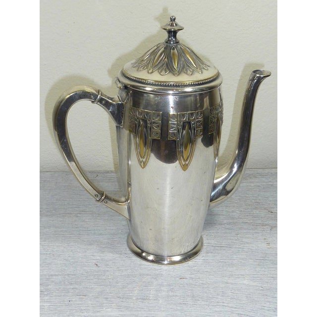 1900s Art Nouveau WMF Coffee/Tea Set - Image 3 of 11