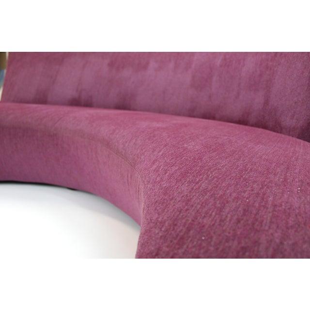 "Textile 1980s Vintage Vladimir Kagan for Preview ""Bilbao Sofa"" For Sale - Image 7 of 9"