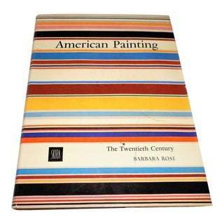 """American Painting the Twentieth Century"" by Barbara Rose ... Free Media Shipping to Lower 48 States For Sale"