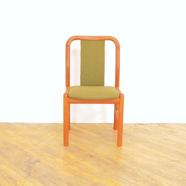 1960s Vintage Danish Teak Dining Chairs - Set of 6 For Sale - Image 4 of 11