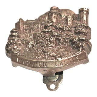 Medieval English Edifice Warwick Castle 1920s Door Knocker For Sale