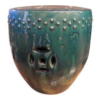 Asian Ceramic Drum Stool