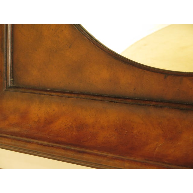 Traditional Theodore Alexander Square Walnut Mirror For Sale - Image 3 of 7