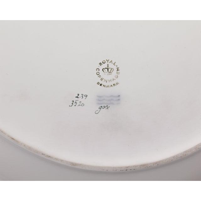 Royal Copenhagen Flora Danica Musk Ox Serving Platter For Sale - Image 4 of 5