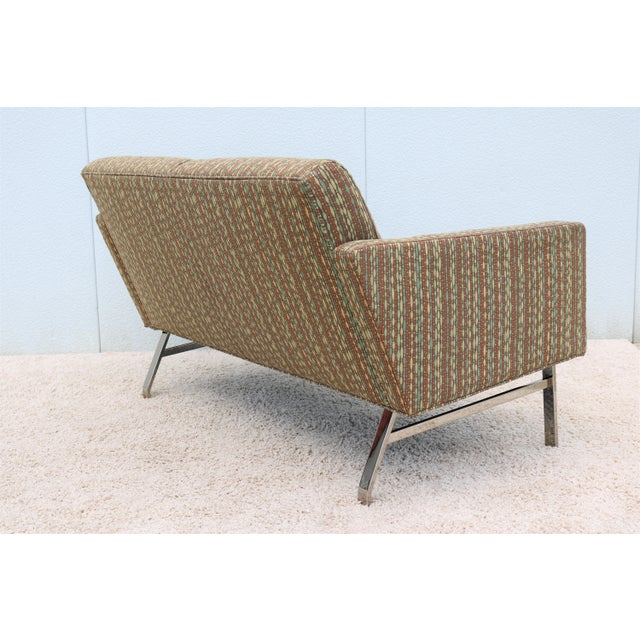 Brown Mid-Century Modern Jack Cartwright Kelly Settee For Sale - Image 8 of 13