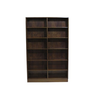 Pair of Danish Rosewood Bookcases by Omann Jun For Sale