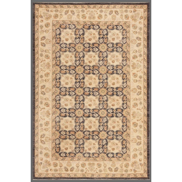Pasargad Home Ferehan Collection Traditional Rug - 6'x9' For Sale