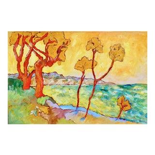 Contemporary Painting, 1966 Santa Barbara Summer For Sale