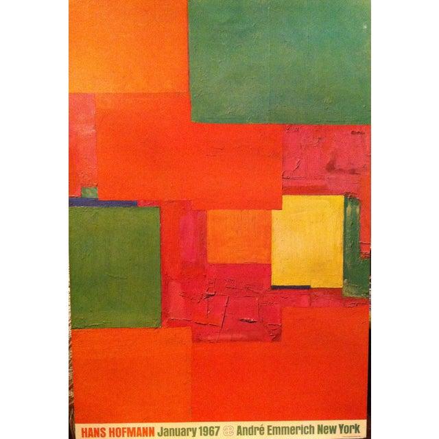 Vintage 1967 Hans Hoffman Andre Emmerich Poster For Sale