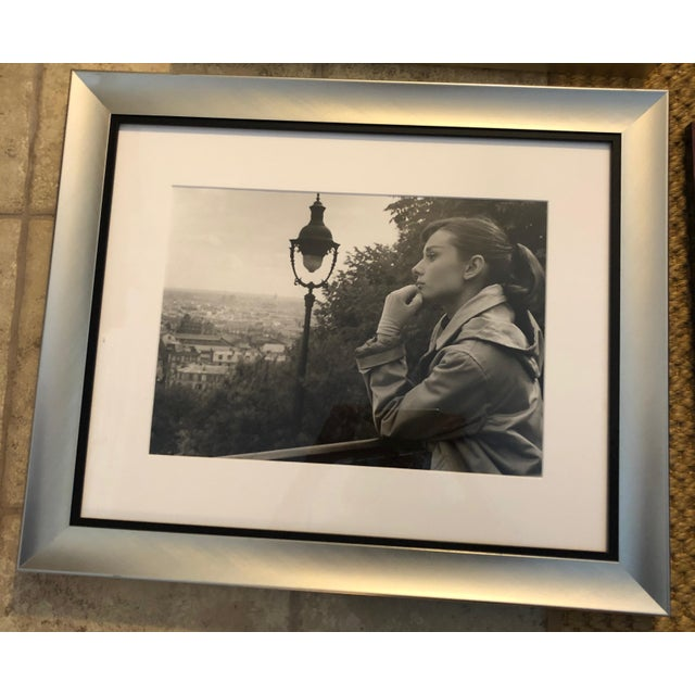 Set of 6 framed Ralph Lauren designed frames. photos in frames