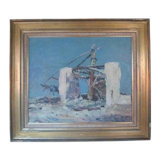 René Zimmermann Landscape Painting For Sale