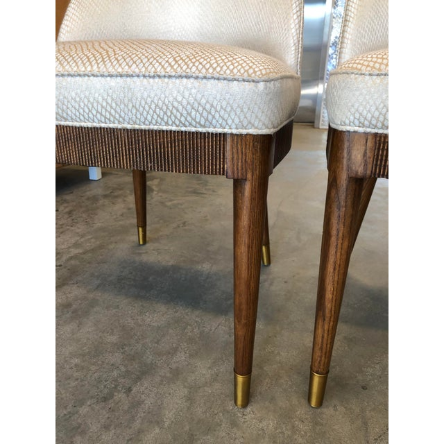 French Modern Hickory Chair Lauren Dining Chairs- A Pair For Sale - Image 3 of 9