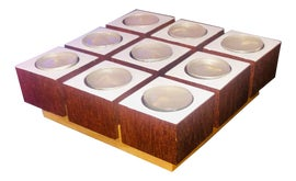 Image of Teak Candle Holders