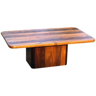 Vintage Mid Century Jensen Frokjaer Danish Rosewood Coffee Table For Sale
