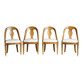 Karges Neo Classic Dining Chairs- Set of 4 For Sale