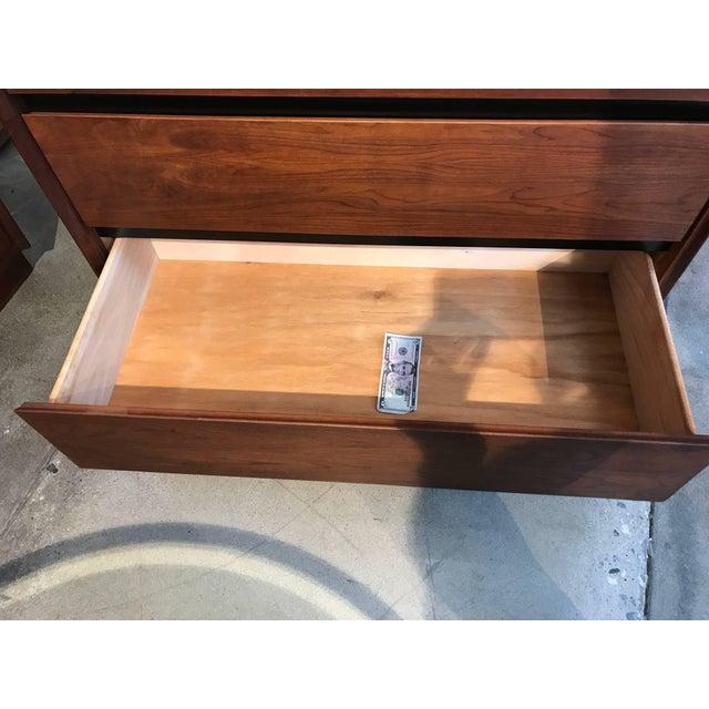 Walnut Dillingham Walnut Dresser For Sale - Image 7 of 10