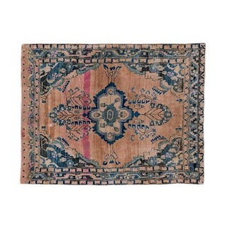 Early 20th Century Antique Lilihan Design Rug - 5′1″ × 5′6″ For Sale