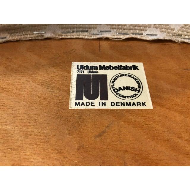 Johannes Andersen for Uldum Vintage Teak Dining Chairs - Set of 6 For Sale - Image 11 of 12
