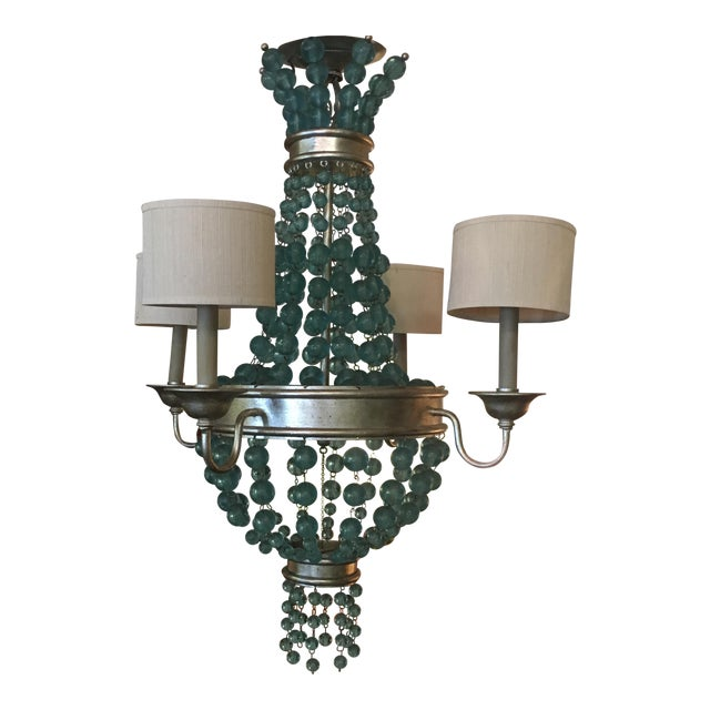 Currey & Company Serena Chandelier - Image 1 of 6
