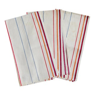 Linen Hand Towels - Set of 3