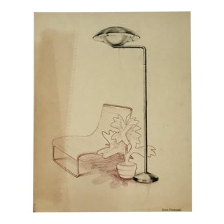 Original Industrial Design Drawings by John P. Coleman - Set of 5 For Sale