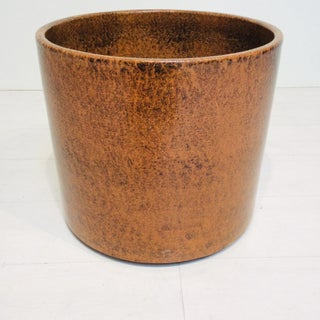 Mid Century Modern Brown Gainey Planter Preview