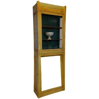 Painted Deco Boot Display Case