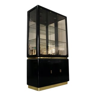 Postmodern Hollywood Regency China Cabinet For Sale