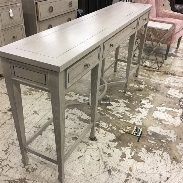 Bernhardt 3-Drawer Console Table - Image 4 of 6