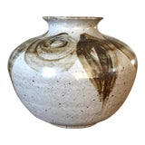 Image of Mid-Century Studio Pottery Vase For Sale