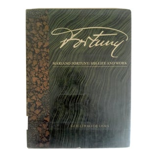 """""""Mariano Fortuny His Life & Work """" Fashion Textile Arts Vintage 1980 Hardcover Book"""