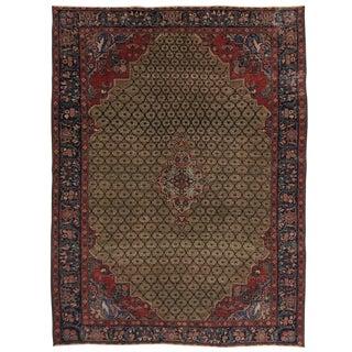 Distressed Tabriz Persian Carpet | 7 X 9'4