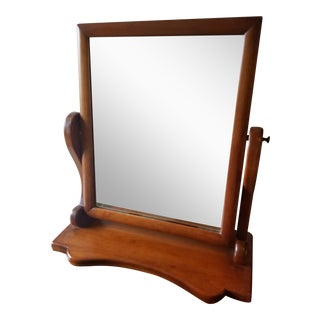 20th Century Tradition Stickley Cheval Style Dresser Top Shaving/Vanity Mirror For Sale
