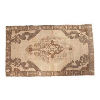 "Vintage Distressed Oushak Carpet - 6'2"" x 10'6"""