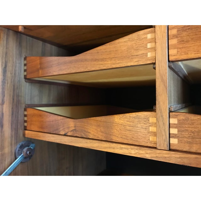 1960s Poul Cadovius Teak Cado Wall Unit Denmark For Sale - Image 5 of 13