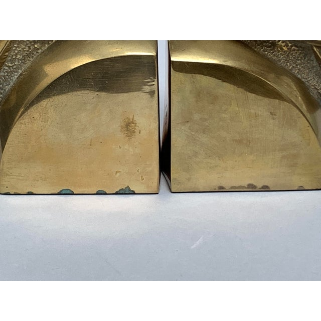 Brass Dove Bookends – a Pair For Sale In New York - Image 6 of 13