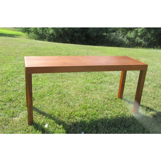 Mid-Century Modern Teak Sofa /Hall Table Signed Paine's Furniture For Sale - Image 10 of 10
